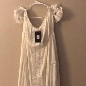 Fashion Nova, NWT, White Maxi Dress